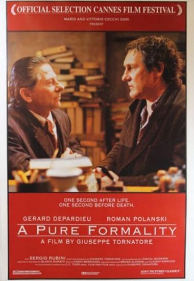 A Pure Formality 1994