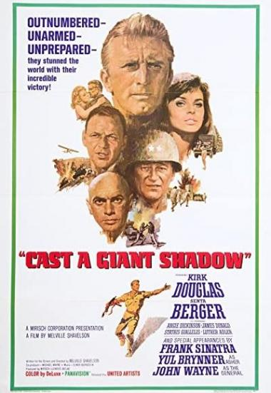 Cast a Giant Shadow 1966