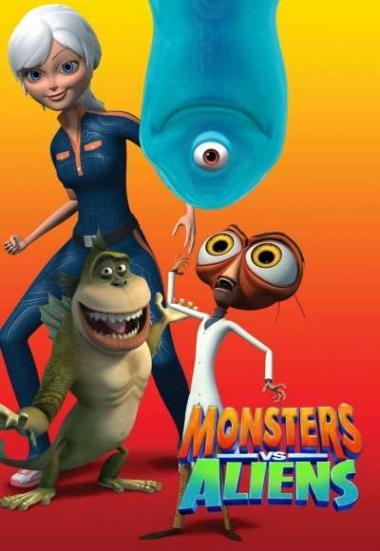 Monsters vs. Aliens 2013