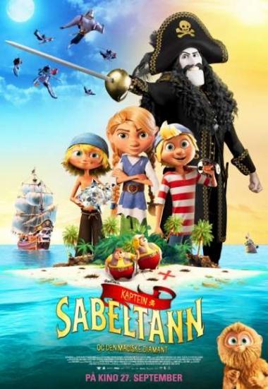 Captain Sabertooth and the Magic Diamond 2019